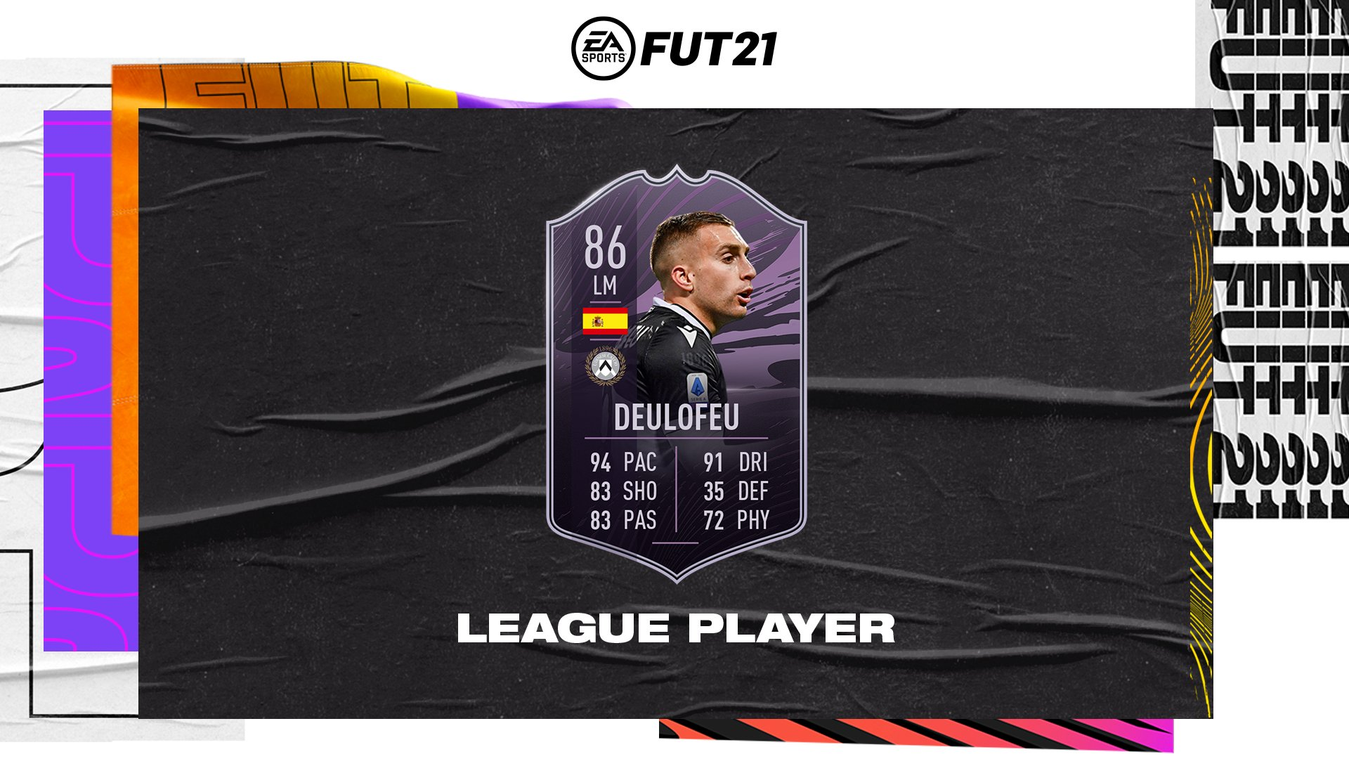 Deulofeu League Player FIFA 21