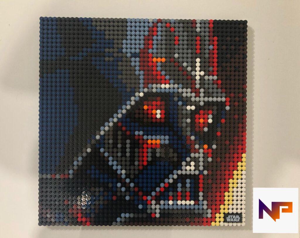 LEGO Art - I Sith Star Wars