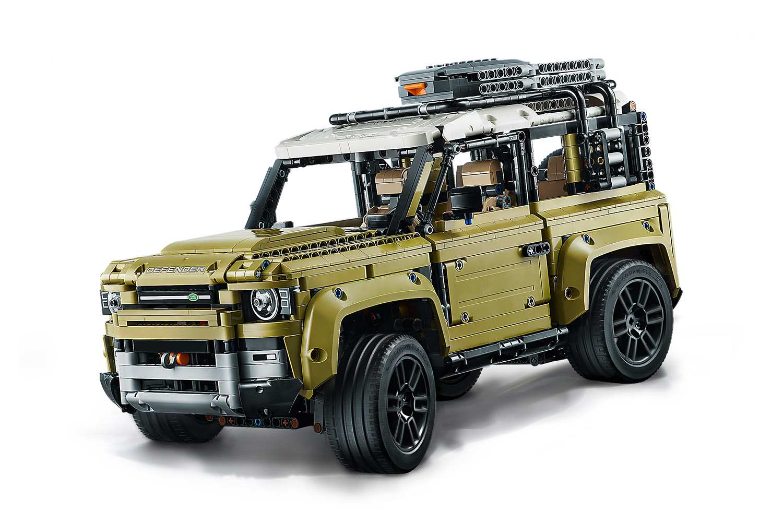 lego technic 42110  land rover defender la recensione