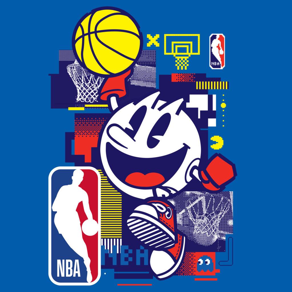 Pac-Man e NBA - 40 Anniversario - Bandai Namco