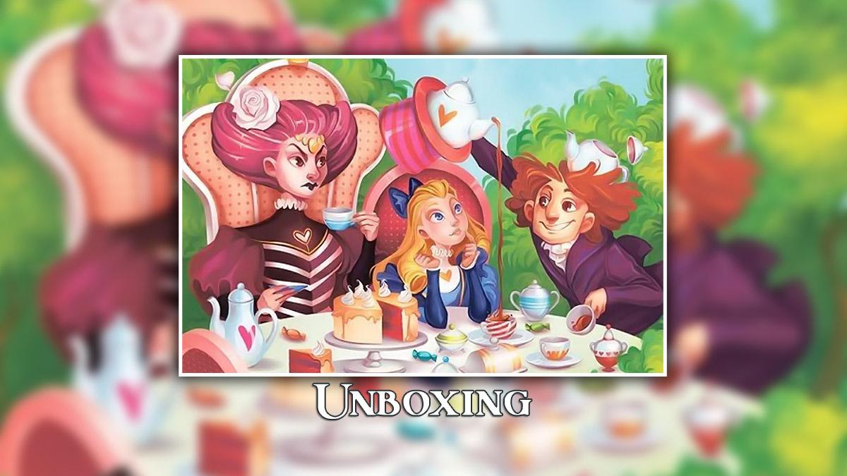 Alice in Wordland Unboxing