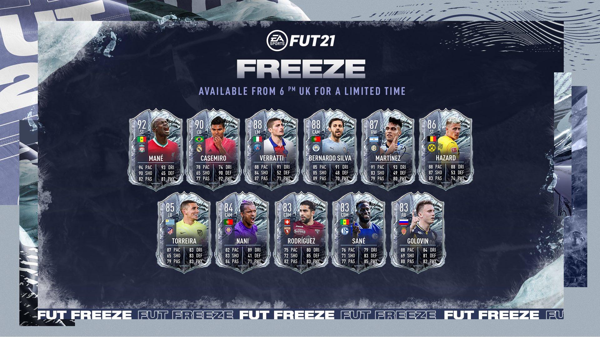 FUT Freeze