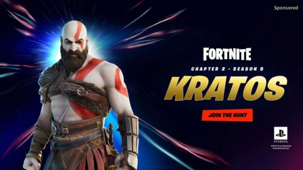 Fortnite skin Kratos Master Chief