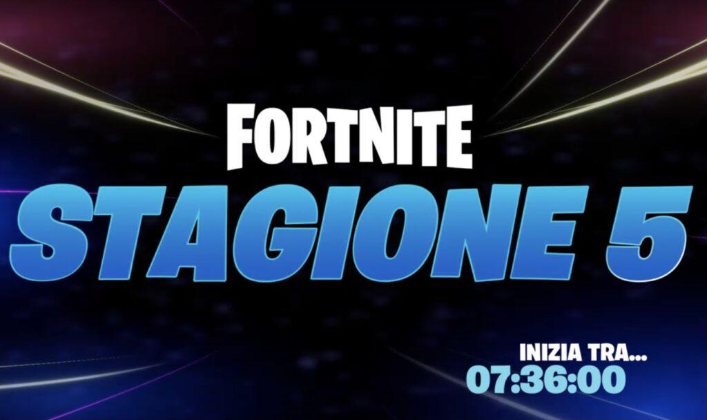 Fortnite Galactus evento stagione 5