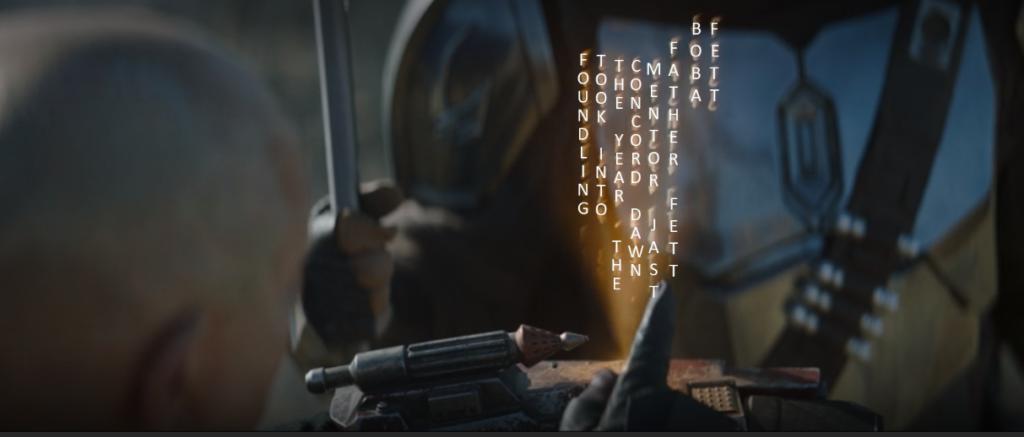 The Mandalorian 2x06 - Il codice di Boba Fett tradotto in inglese