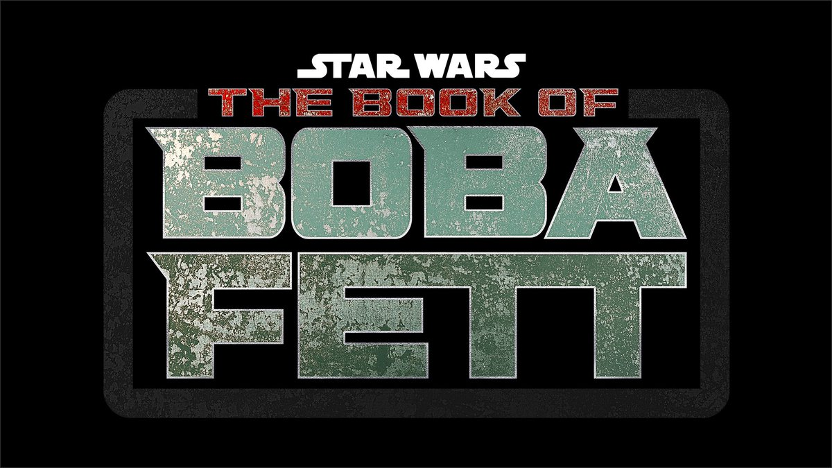 Star Wars: The Book of Boba Fett - Logo Serie Disney+
