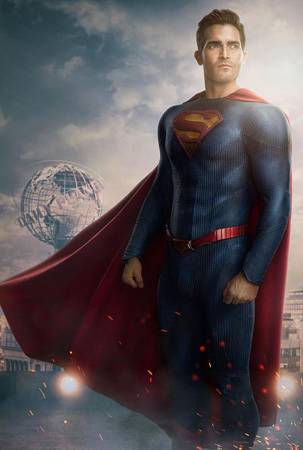Il costume di Tyler Hoechlin in Superman & Lois