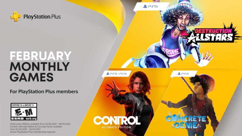 PlayStation Plus febbraio 2021
