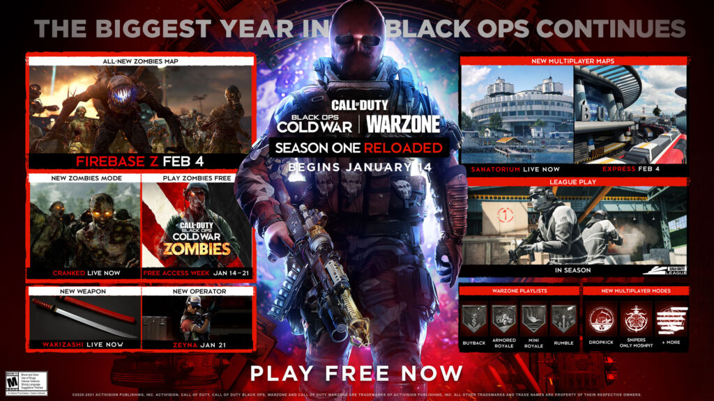 Call of Duty: Black Ops - Cold War - Season 1 Battle Pass