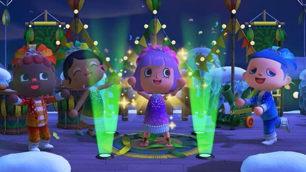 Animal Crossing: New Horizons Carnevale evento