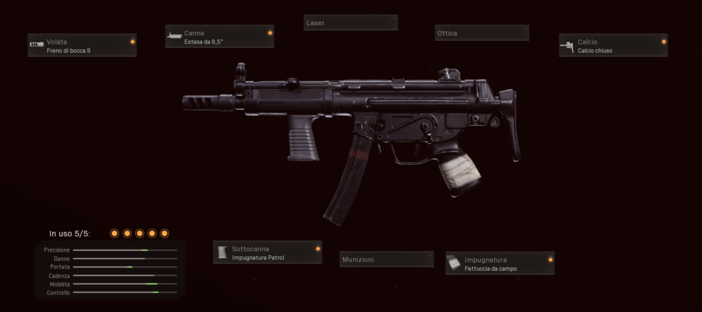 MP5 Setup Call of Duty