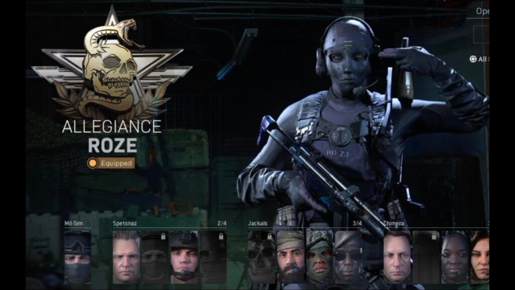 Call of Duty Warzone Roze Skin