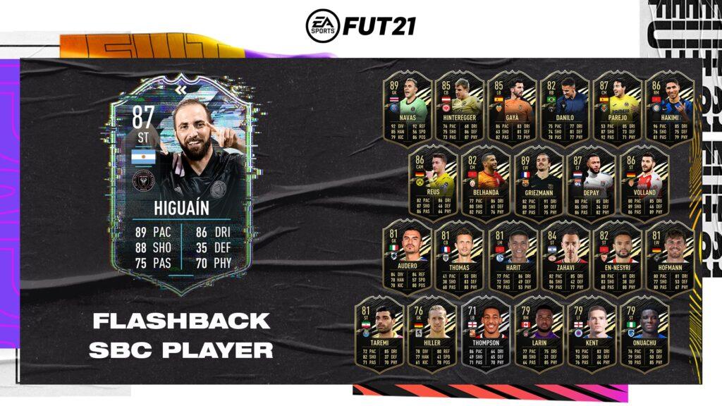 Fifa 21 Ultimate Team - Higuain Flashback SBC - FUT