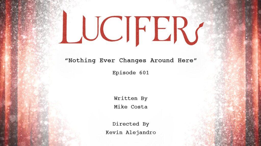 Lucifer 6 - Titolo Episodio 6x01