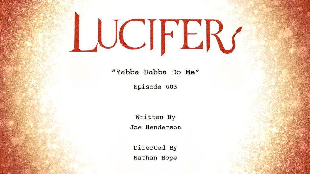 Lucifer 6 - Titolo Episodio 6x03