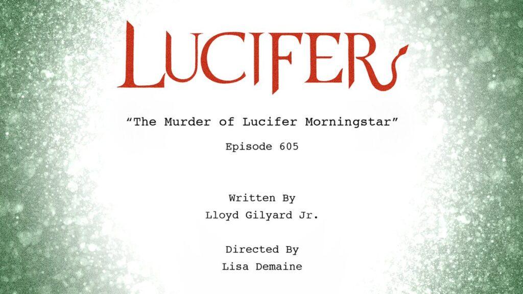 Lucifer 6 - Titolo Episodio 6x05