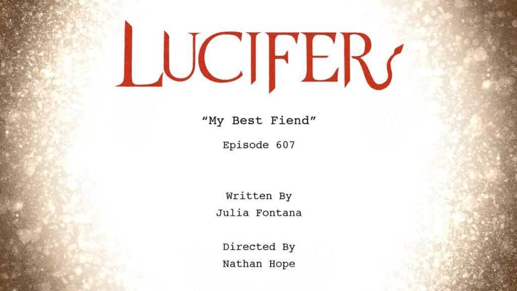 Lucifer 6 - Titolo Episodio 6x07