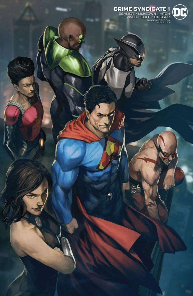 Crime Syndicate variant cover
