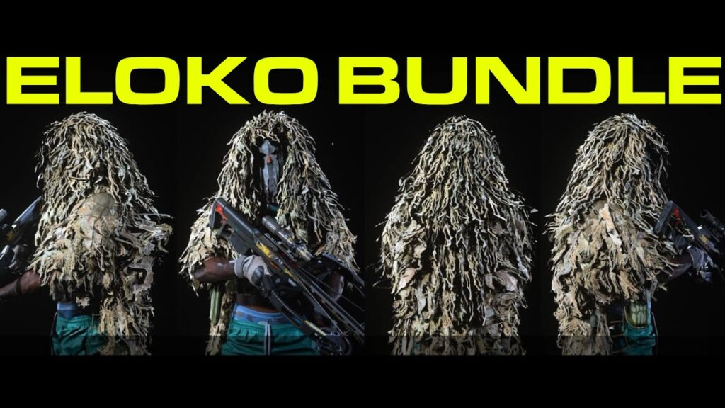 Eloko Grinch Warzone Skin