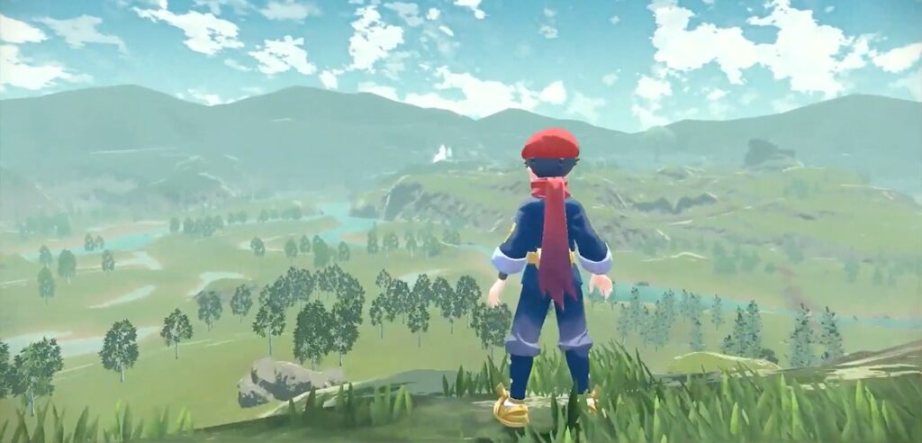 Leggende Pokémon Arceus open world