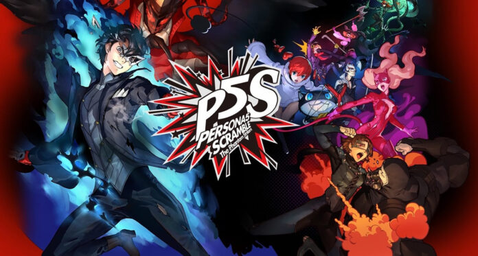 Persona 5 Strikers Key Art