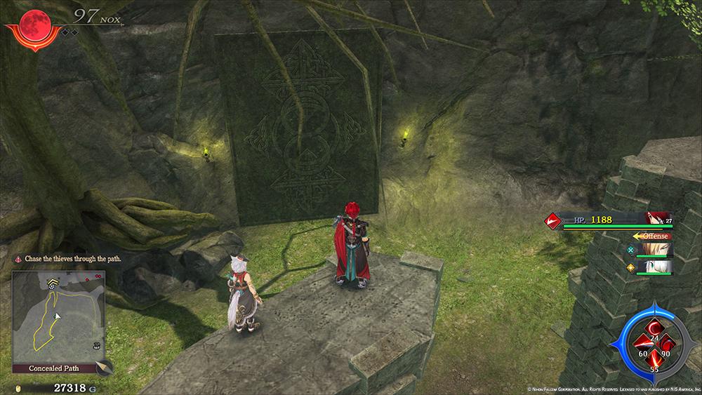 Ys IX Monstrum Nox dungeon