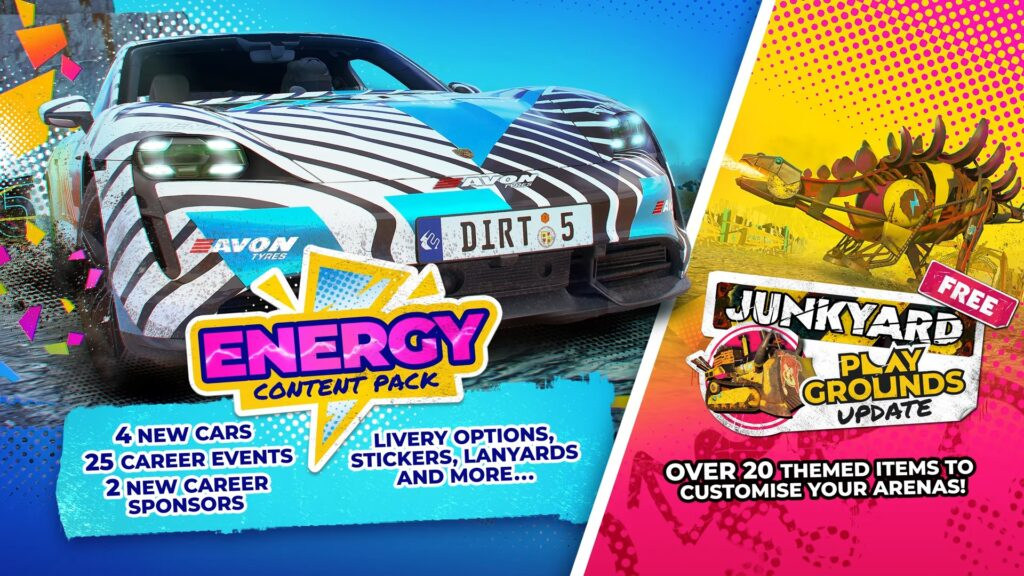 Dirt 5 Energy Content Pack