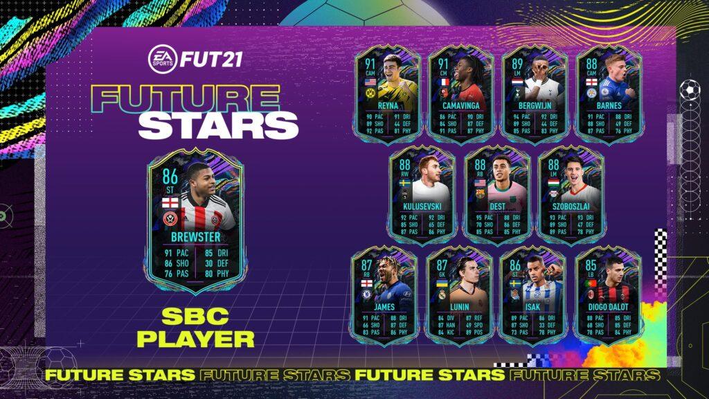 Brewster Future Stars FIFA 21 Ultimate Team