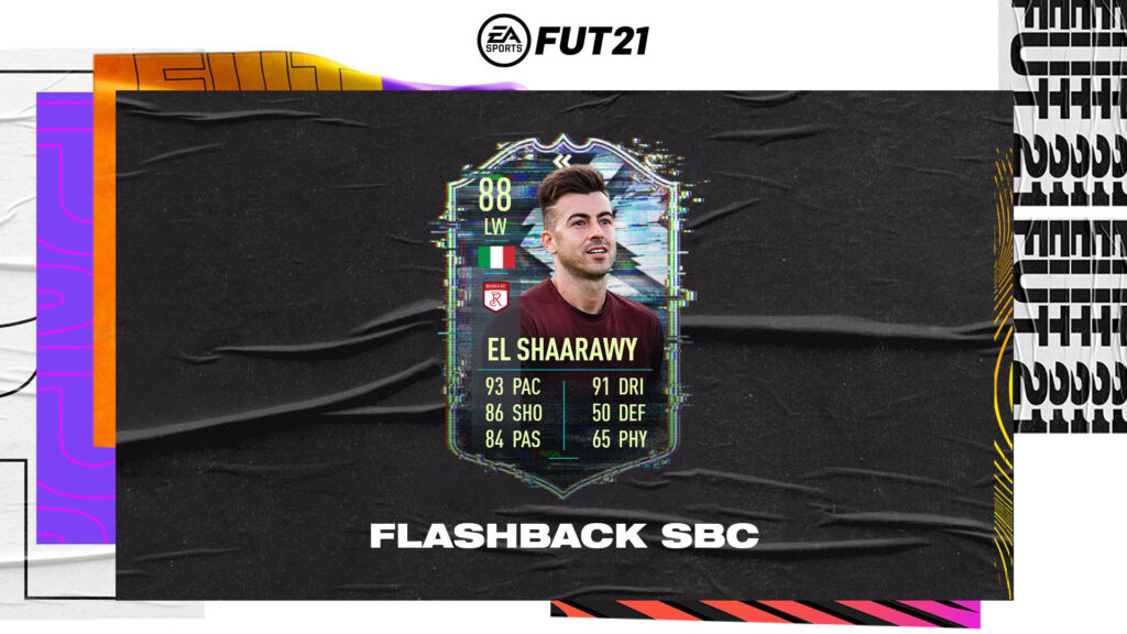 Fifa 21 Ultimate Team - El Shaarawy Flashback SBC - FUT