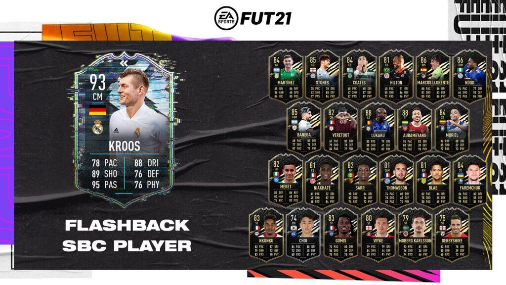 Fifa 21 Ultimate Team - Kroos Flashback SBC - FUT