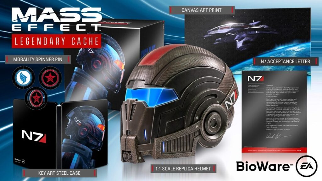 Mass Effect Legendary Edition Bioware DLC