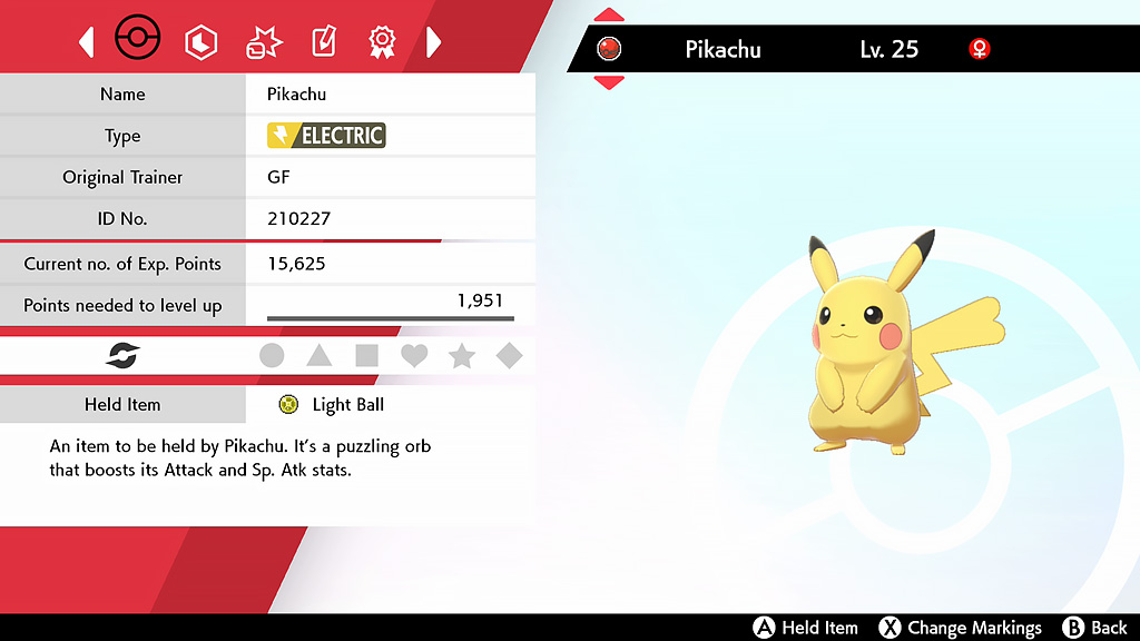 Pokémon Spada e Scudo Pikachu