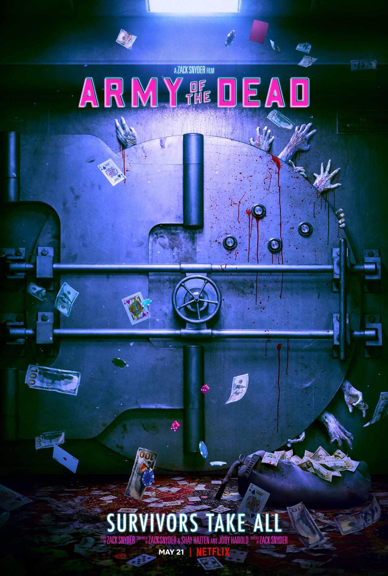 Poster Army of the Dead di Zack Snyder