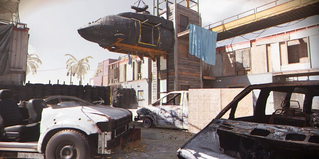 Call of Duty Shoot House Map