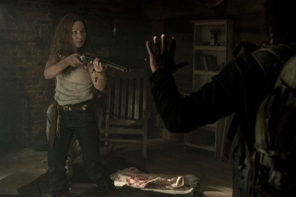 The Walking Dead 10C - Leah (Lynn Collins)