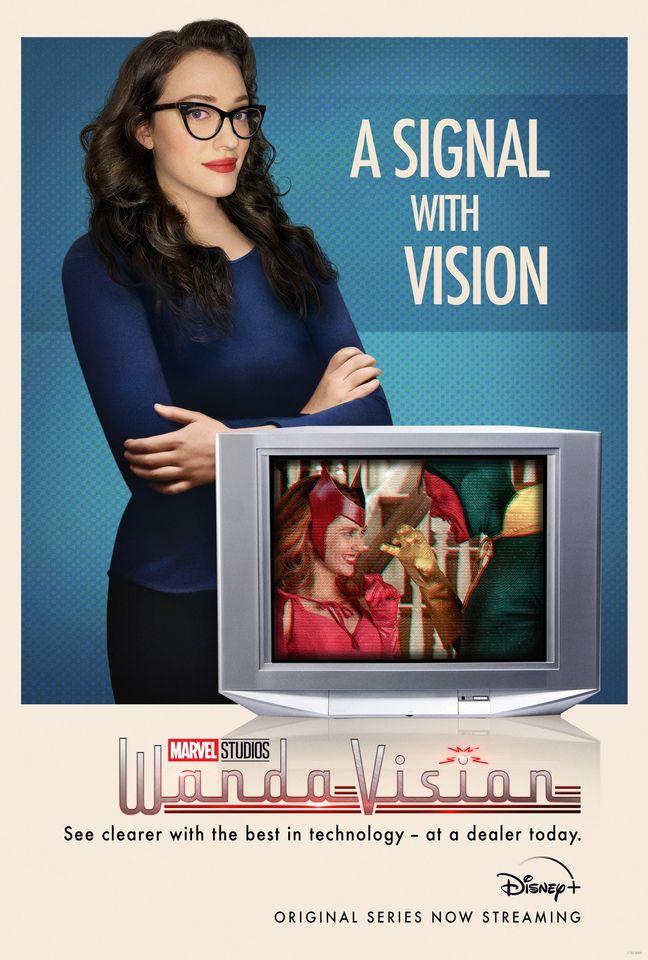 Poster WandaVision - Darcy Lewis (Kat Dennings)