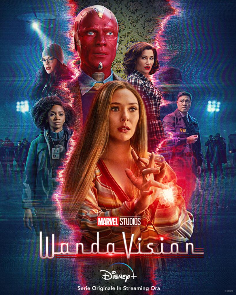 WandaVision - Nuovo Poster Serie Disney+