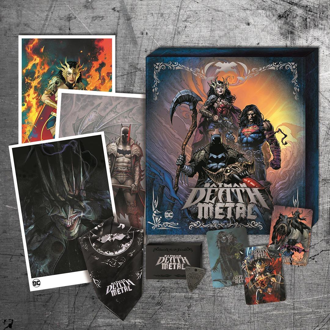 Batman Death Metal Hardcore Box Panini Comics DC