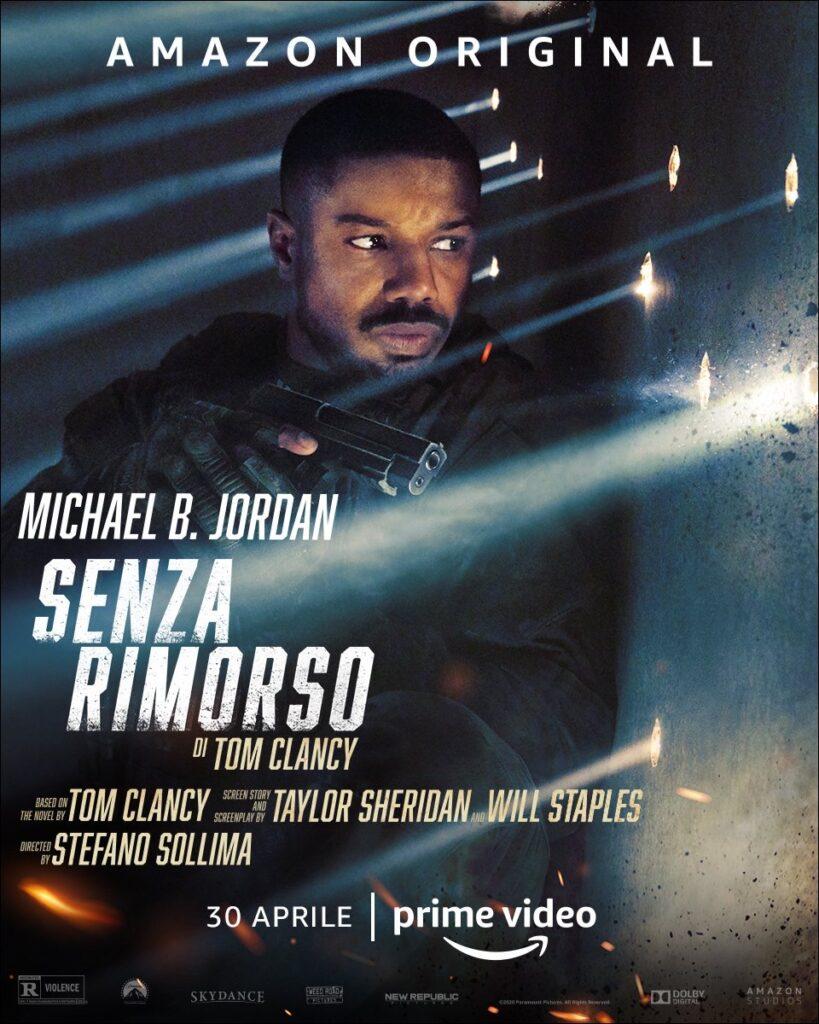 Senza Rimorso, Amazon, Prime Video