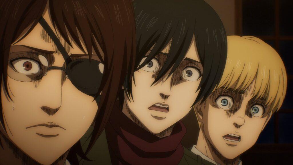 Attacco dei giganti Mikasa Armin
