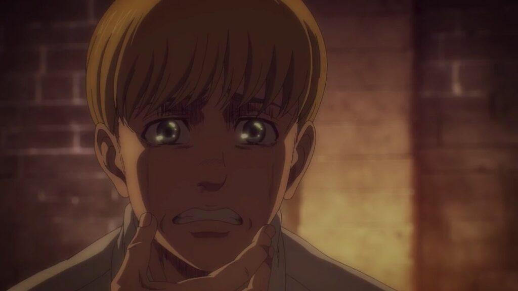 attacco dei giganti Armin