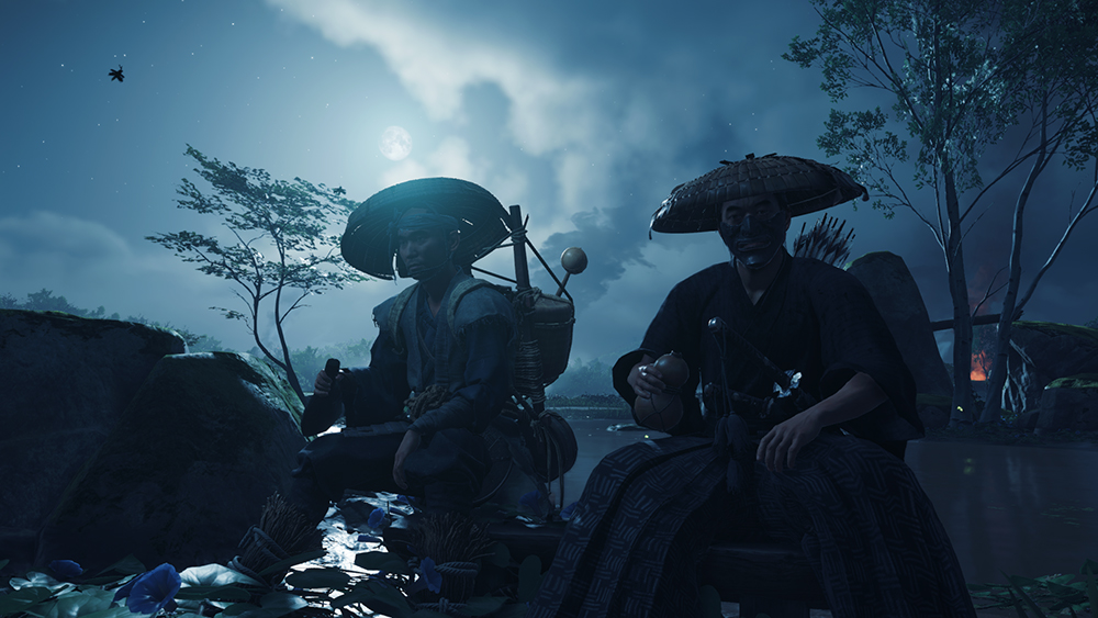 Ghost of Tsushima screen limite open world