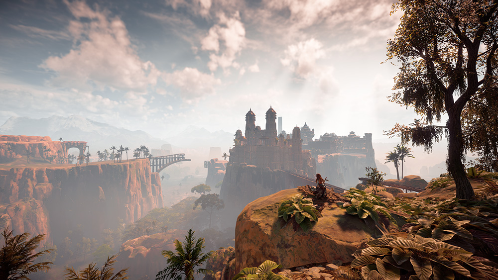 Horizon Zero Dawn screen open world.