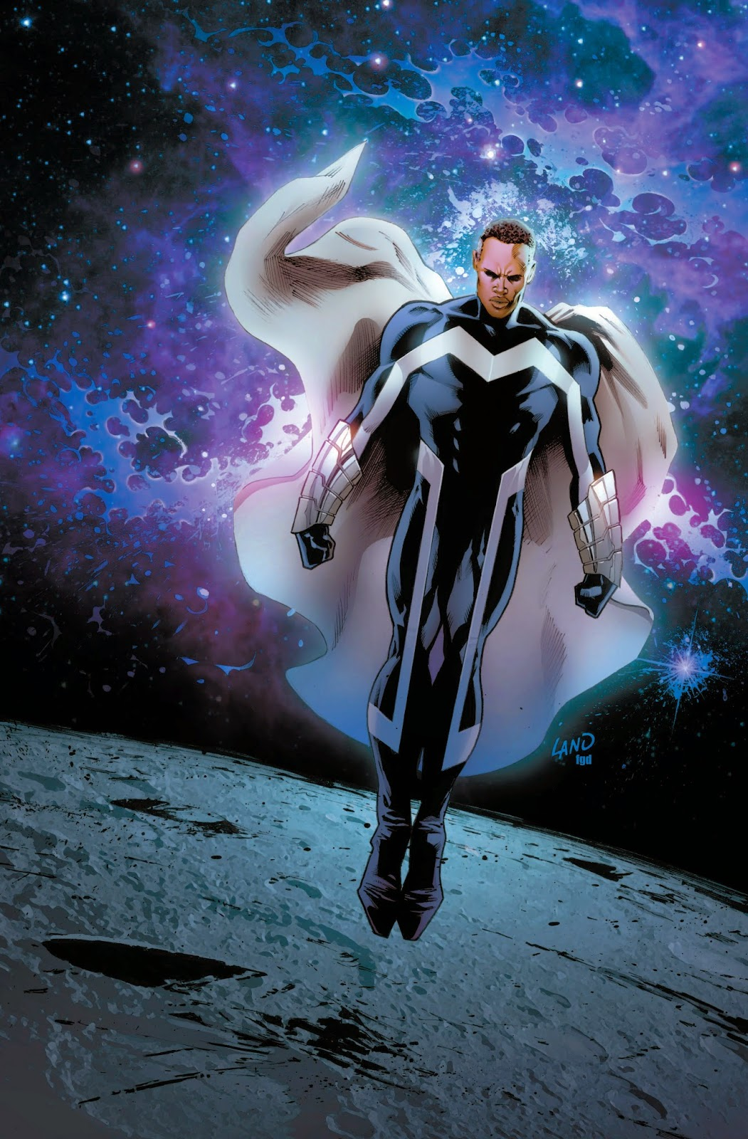 Blue Marvel Micheal B Jordan John Boyega Captain Marvel 2 MCU Carol Danvers