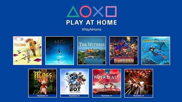 Play at Home Sony Horizon Zero Dawn gratis