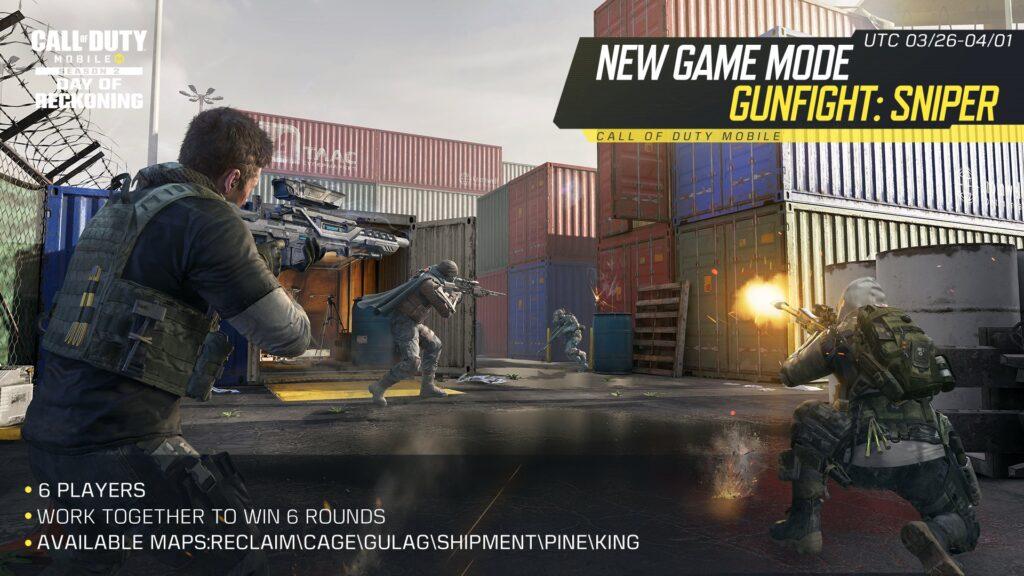 Call of Duty Mobile Gunfight Sniper