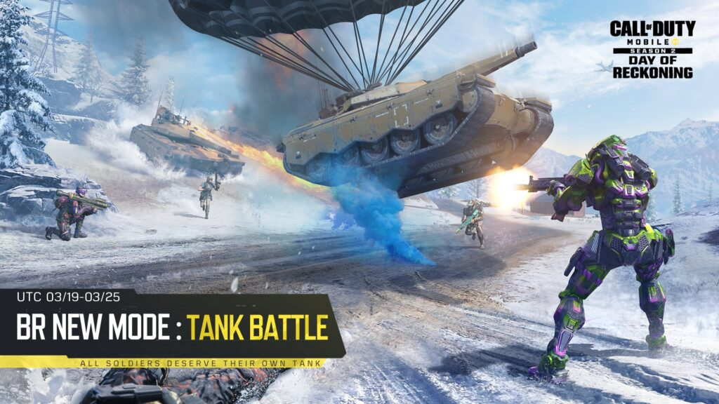 Call of Duty Mobile Tank Battle