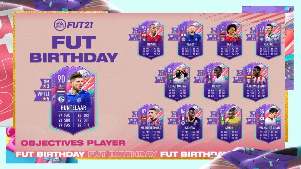 FIFA 21 Huntelaar FUT Birthday Obiettivi Giocatore - Ultimate Team