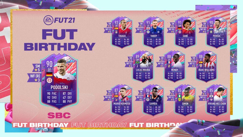 Podolski SBC FUT Birthday - FIFA 21 Ultimate Team FUT