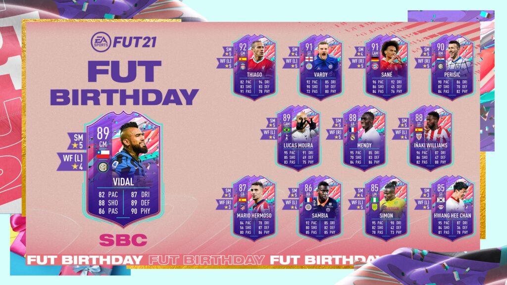 FIFA 21 Ultimate Team - Vidal FUT Birthday SBC